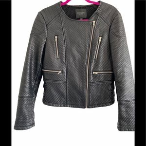 Piperlime faux leather Moto jacket